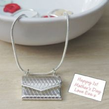 Secret Message Envelope Pendant - Ideal Wedding Day Necklace for Bride or great Valentine's Day Gift